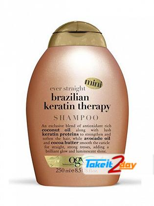 Ogx Brazilian Keratin Therapy Shampoo For Men And Women 250 ML Mini