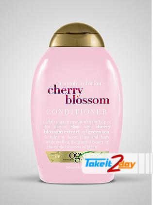 Ogx Cherry Blossom Conditioner For Men And Women 385 ML