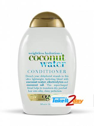 Ogx Coconut Water Conditioner For Men And Women 385 ML