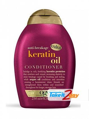 Ogx Keratin Oil Conditioner For Men And Women 250 ML Mini