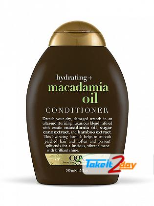 Ogx Macadamia Oil Conditioner For Men And Women 385 ML