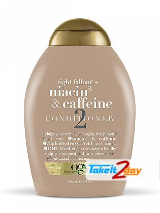 Ogx Niacin 3 & Caffeine Conditioner 2 For Men And Women 385 ML