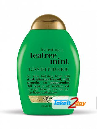 Ogx Teatree Mint Conditioner For Men And Women 385 ML
