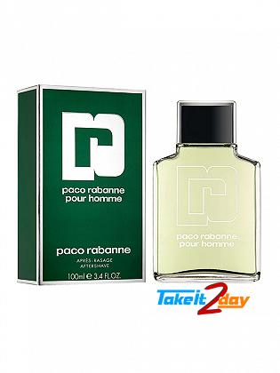Paco Rabanne Pour Homme After Shave For Men 100 ML