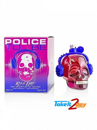 Police To Be Miss Beat Perfume For Women 125 ML EDT