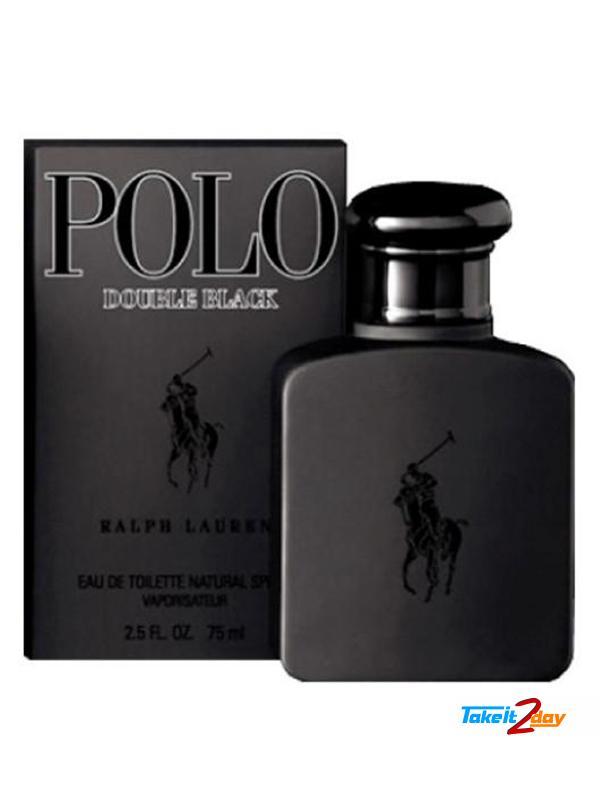 Ralph Lauren Polo Double Black Perfume For Men 75 ML EDT