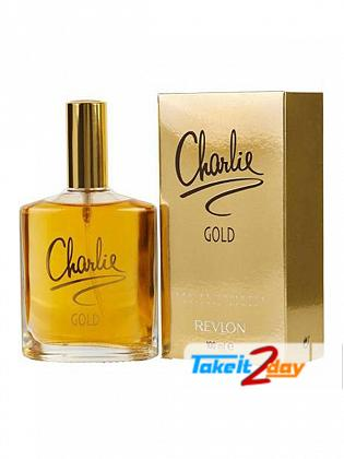 Charlie Gold Perfume For Women By Revlon 100 ML EDT