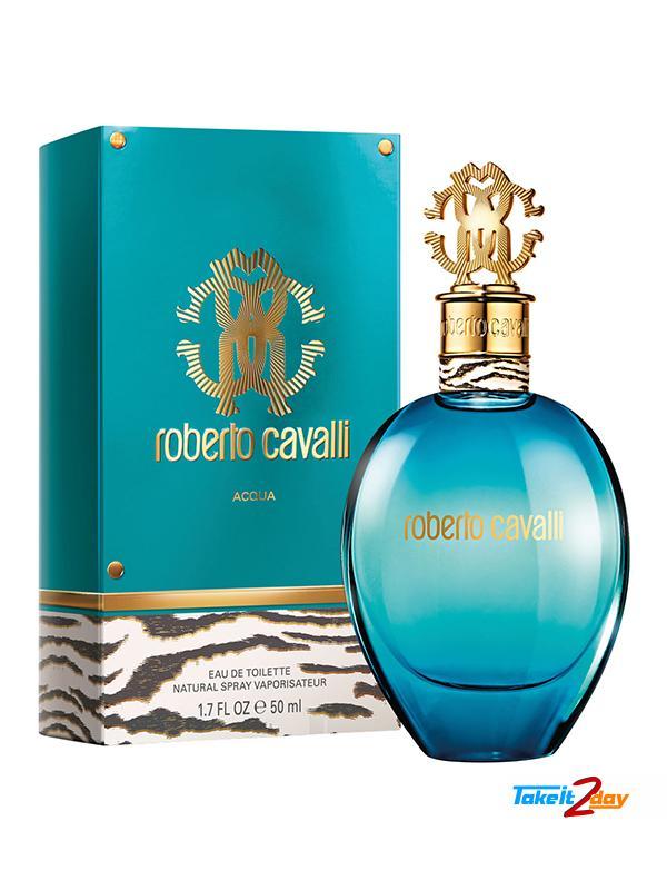 48dbe864f2b53 Roberto Cavalli Acqua For Woman 75 ML EDT. Click Image for Gallery