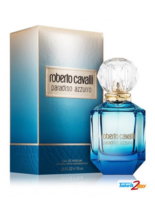 d9d5e8941419e Roberto Cavalli Paradiso Azzurro For Woman 75 ML EDP. Click Image for  Gallery