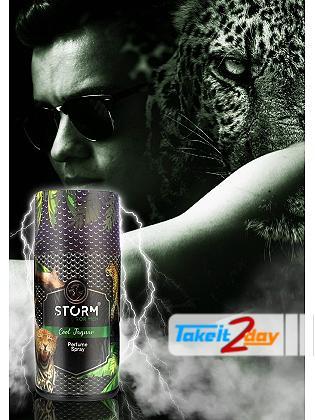 Storm Cool Jaguar Deodorant Body Spray For Men 250 ML