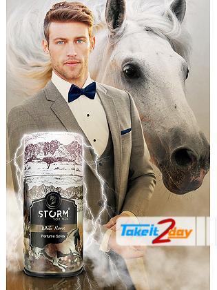 Storm White Horse Skin Deodorant Body Spray For Men 250 ML