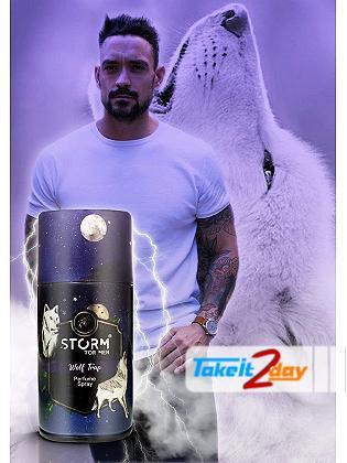 Storm Wolf Trap Deodorant Body Spray For Men 250 ML