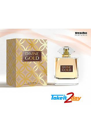 Trescho Perfuems Divine Gold Perfume For Men And Women 100 ML EDP