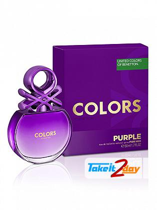 United Colors Of Benetton Colors De Benetton Purple Perfume For Women 100 ML EDT