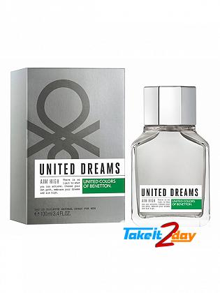 United Colors Of Benetton United Dreams Aim High Perfume For Men 100 ML EDT
