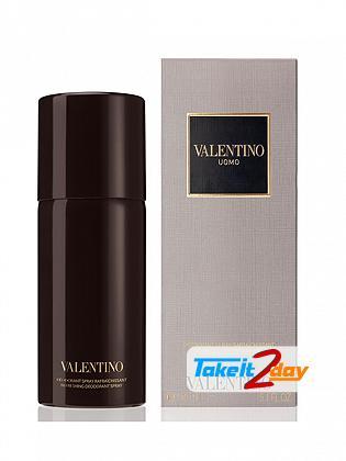 Valentino Uomo Perfume Deodorant For Men 150 ML
