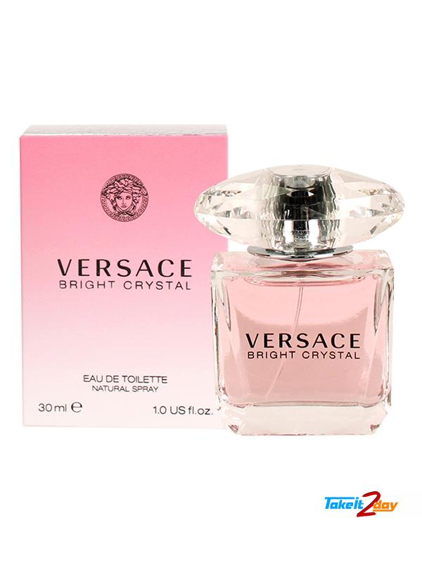 Crystal For Versace Edt Woman 30 Ml Perfume Bright 80mPvNOynw