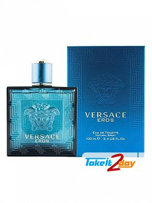 Versace Eros Pour Homme Perfume For Man 100 ML EDT