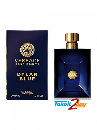 Versace Pour Homme Dylan Blue Perfume For Man 200 ML EDT