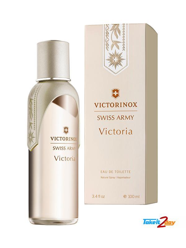 Victorinox Swiss Army Victoria Perfume For Women 100 Ml Edt