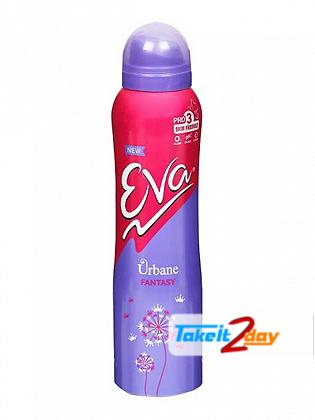 Eva Urbane Fantasy Deodorant Body Spray For Women 125 ML