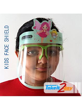 Labdhi International Kids Face Cover Shield Fairy Isolation Panel, Anti Fog, Anti Splash Reusable 300 Microns