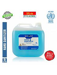 Shavi 75% V/v Alcohol Based Hand Sanitizer 5 Litre