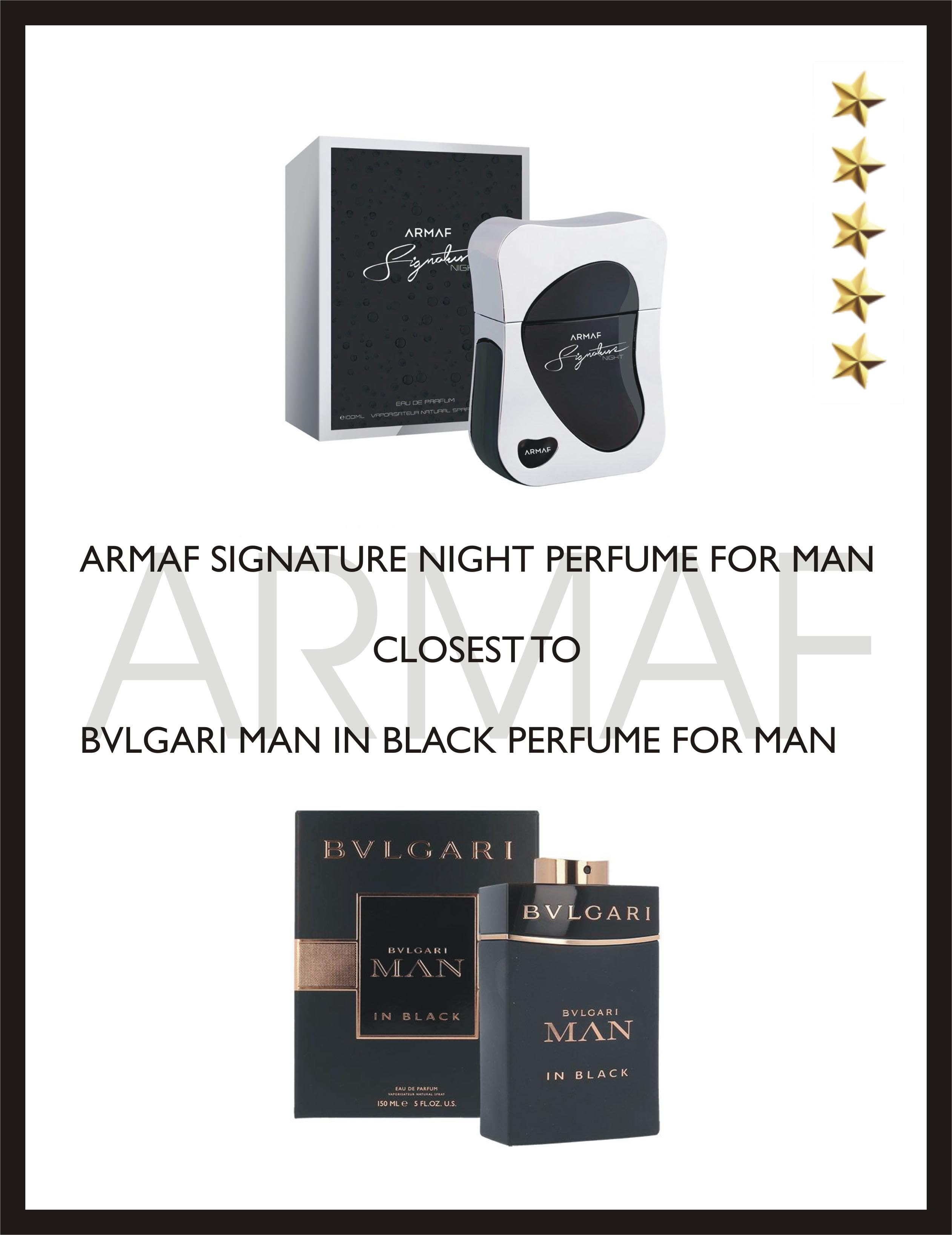 Top 10 New Launch Armaf Fragrances And Clash Of The Clones Bvlgari Man In Black Edp 100ml Signature Night