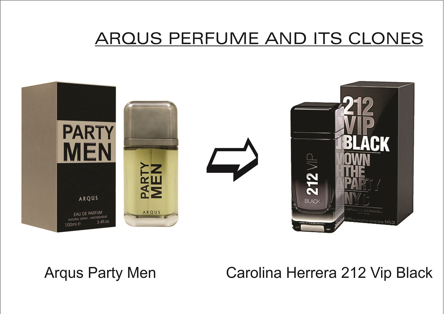 arqus-party-men-for-men-100-ml-edp-by-lattafa-perfumes-carolina-herrera-212-vip-black