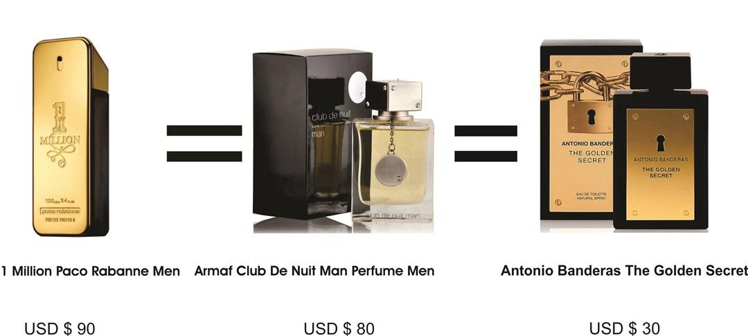 paco-rabanne-million-clone-armaf-club-de-nuit-antoino-banderas-golden-secret