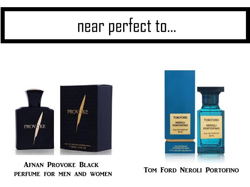 Afnan-Provoke-Black-Perfume-Tom-Ford-Neroli-Portofino