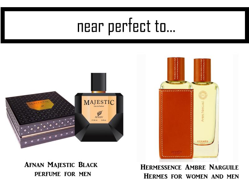 Afnan-Majestic-Black-Perfume-Hermessence-Ambre-Narguile-Hermes