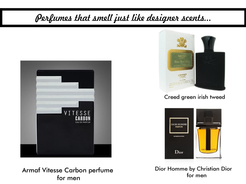 Armaf Clones      perfumes that smell just like designer