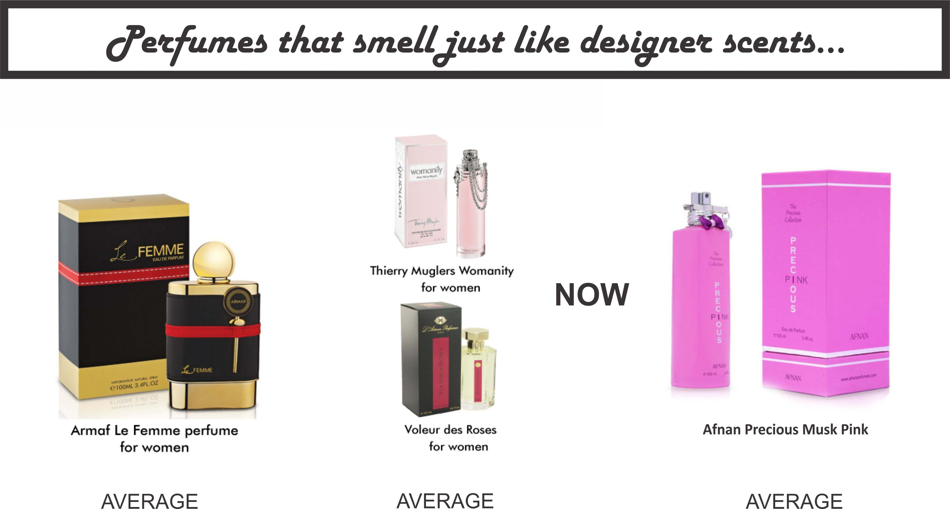 armaf-le-femme-perfume-women-thierry-muglers-womanity-voleur-des-roses-women-afnan-precious-pink-perfume-for-women